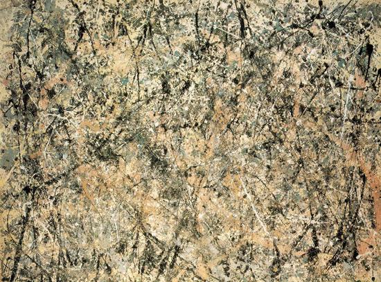 Lavender Mist : Number 1. Jackson Pollock, 1950.