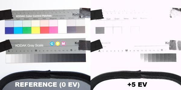 Récupération des hautes lumières à +5 EV.