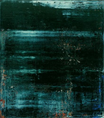 Abstraktes Bild, See. 1997. Gerhard Richter.