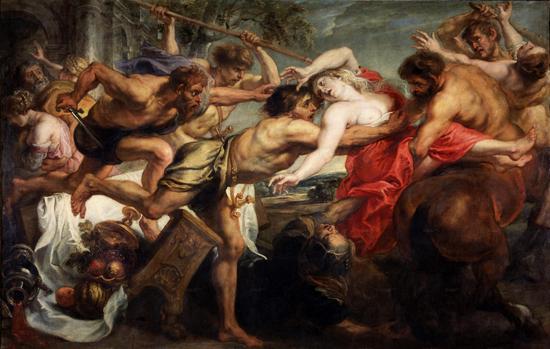 Le rapt de Deidamia, 1637. Peter Paul Rubens.