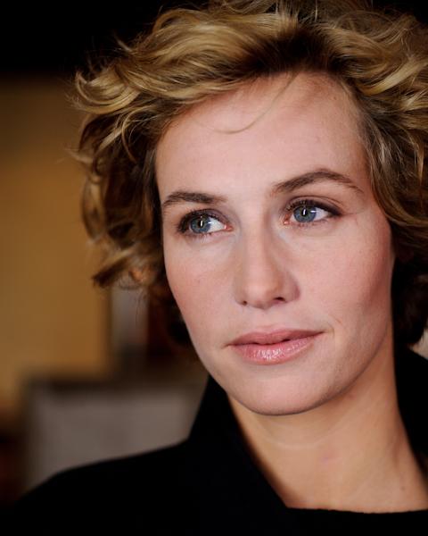 Cécile de France. Décembre 2010. Photo : Jean-Romain Pac.