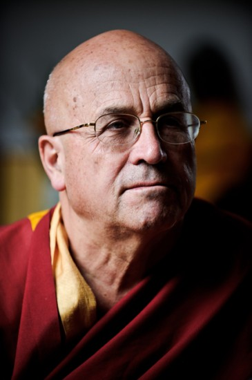 Matthieu Ricard. Photo : Jean-Romain Pac.
