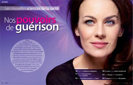 Dossier : Nos pouvoirs de guérison. Magazine Inexploré n°21. Photo : Jean-Romain Pac.